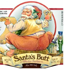Bad Elf Santa' Butt
